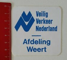 Aufkleber/Sticker: Veilig Verkeer Nederland - Afdeling Weert (230217139)