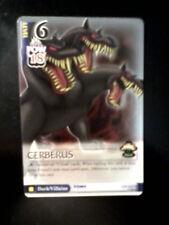 Cerberus Lv 6 132/162 SR card Kingdom Hearts TCG CCG Square Enix Disney Hercules