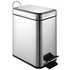 Sabichi 5 Litre Slim Line Stainless Steel Kitchen Rubbish Waste Dust Bin 172587f