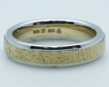 """Christian Bauer Platinum +18k Yellow Gold Band 5.5mm wide """"Sample Sale"""""""