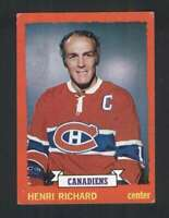 1973-74 Topps #87 Henri Richard VGEX Canadiens 113631