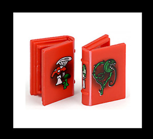 2 x LEGO  Harry Potter Hogwarts Castle Red Spell Potion Magic Book for minfigure