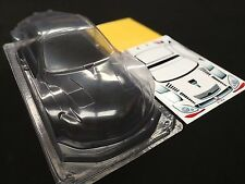 1/10 rc car clear body shell 190mm lexus SC430 gt hpi tamiya yokomo
