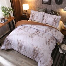 Marble Comforter Set Queen with 2 Matching Pillow Shams,Bedding Soft Quilt Sets