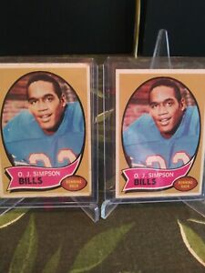 O.j. Simpson Rookie Cards and More.