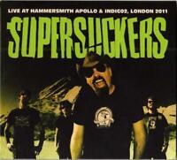 SUPERSUCKERS – LIVE AT HAMMERSMITH APOLLO & INDIGO2, LONDON 2CDs (NEW)