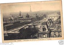 75 - cartolina - PARIGI - Panorama di 8 ponti (H3483)