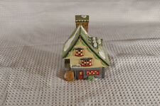Dept 56 North Pole Elf Bunkhouse porcelain house with light