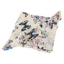 Women Warm Lady Chiffon Butterfly Print Neck Shawl Scarf Scarves Wrap Stole YI