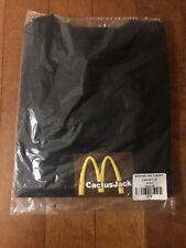 New Travis Scott x McDonald's Sesame Inv T-Shirt Black/Brown M SOLD OUT!