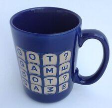 Boggle Word Puzzle Search Coffee Mug Got Game Blue 15 oz