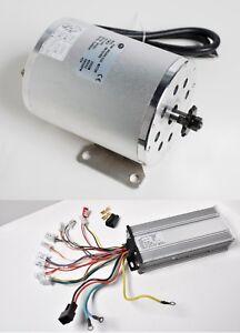 2000W Watt 60V Volt BLDC electric motor w Base BOMA with Controller f Go-kart