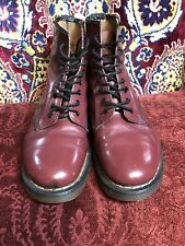 Doc Martens Vintage 1460 Oxblood Boots Made in England | UK 8 / US 9 8 Hole