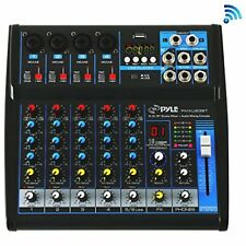 Sound Around Pyle Professional Audio Mixer Board Console - Desk System