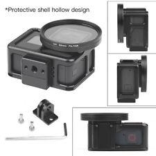 Action Camera Protect Case 52mm UV Lens Filter Shockproof For Gopro Hero 7 Black