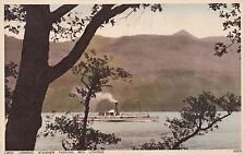 Loch Lomond Steamer Passing Ben Lomond, TARBET, Dumbartonshire