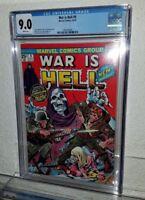 WAR IS HELL #9 CGC 9.0 NM 1st appear DEATH High Grade Bronze 1974 MARVEL COMICS