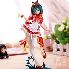 "Vocaloid Hatsune Miku Project DIVA Painted Action PVC Figure DollsToy 9"" Red AU"