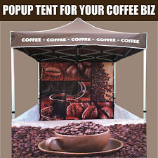 Coffee Popup Tent Marquee Shop Gazebo NEW 3Mx3M  Suit machine