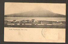 HORTA / ACORES (PORTUGAL) VILLAS animé en 1903