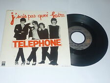 TELEPHONE-J 'precedente pas quoi faire - 1979 French 2-TRACK 7""