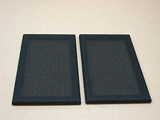 Pair of LS3/5a Front grilles for early cabinets (Rogers etc) - Tygan covered