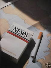 PUBLICITÉ 1985 CIGARETTES INTERNATIONAL NEWS - TABAC