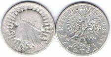 2 Zl Muenze Glowa Kobiety 1934, Silber 4,4 gr. TOP Zustand, RAR