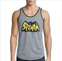 Officially Licensed DC Comics Men's Classic Batman Logo Tank Top New