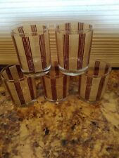 Georges Briard Old-Fashioned Glasses set of 5 bin 1127