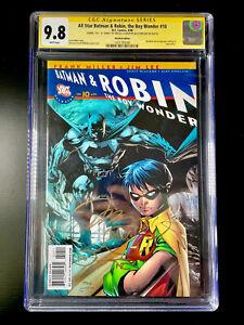 """All Star Batman & Robin 10 9.8 CGC SS Jim Lee """"FU"""" 😳 Sinclair Recalled"""
