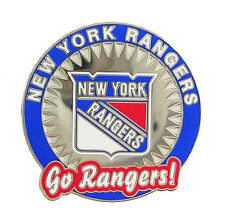 "New York Rangers ""Go Rangers! "" NHL Logo Pin"