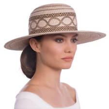 561045eb809 Eric Javits Yasha Wide Brim Water Repellent Hat Cream Mix NEW Retail  295.00