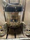Vintage Ice Bucket Beer Chiller By West Bend Thermo-Serv, 1977 Comes With Tongs