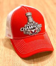 2018 WASHINGTON CAPITALS Stanley Cup Cap Champions NHL Red Embroidered Patch Hat