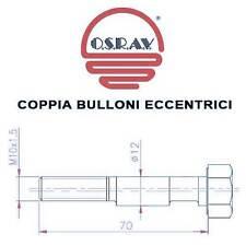 COPPIA BULLONI ECCENTRICI AMMORTIZZATORI FIAT ULYSSE 94-> / UNO 83->95 - X35