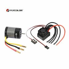 FLYCOLOR 2S-3S 3650 3000KV Brushless Motor with 45A ESC Set for 1/10 RC CarXC