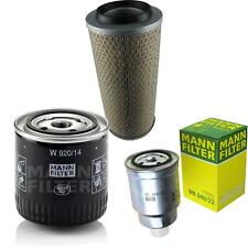 Mann-filter Set Aria Olio Carburante per Nissan Trade Pritsche/Telaio