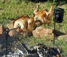 Grizzly Spit Campfire Rotisserie System for Grills & Fire Pits