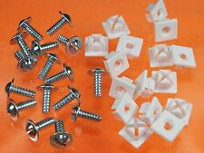 Ford License Plate Screws & Nuts Lincoln Mercury (32 Pk) #59