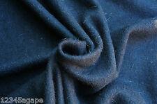 D222 Luxus Schlicht Schwarz fein Uni gepelzt Netz Wolle/Alpacca- Medium WGT
