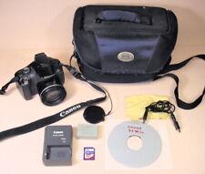 Canon PowerShot SX30 IS 14.1MP Digital Photos w HD Video, good complete set