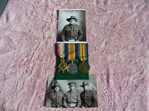 WW1 war medal group Australia. Mitta Mitta/ Tallangatta