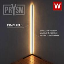 Prysm™ Nordic Corner Lamp - White LED Light Room -...