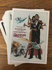 James Bond 007 Archives Final Edition Octopussy Throwback Chase Set 32 Cards