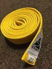 Spirit Arti marziali Cintura per Karate, Judo, Taekwondo & Kickboxing 240cm