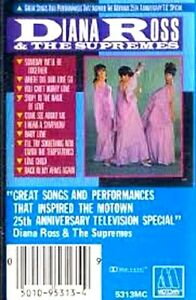 Diana Ross & The Supremes~Great Songs & Performances~Motown~Cassette
