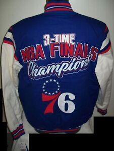 PHILADELPHIA 76ERS TIME NBA FINALS CHAMPIONS Jacket MEDIUM, LARGE, XL