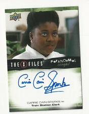 Carrie Cain-Sparks The X Files Ufos & Aliens Paranormal Script Autograph Card