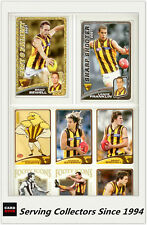 2008 Herald Sun AFL Trading Card MASTER TEAM CARD COLLECTION-HAWTHORN